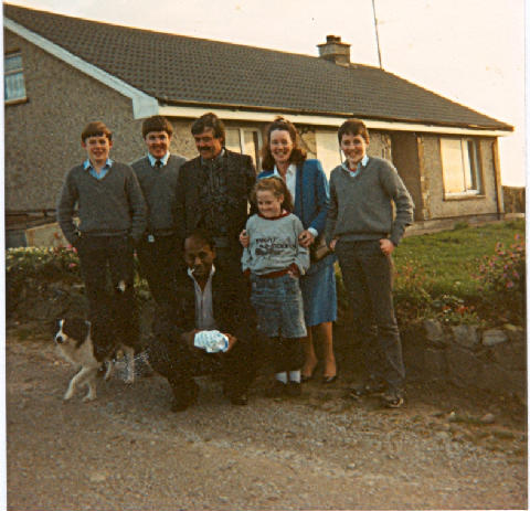 The Coll Family at Grange, Ardmore